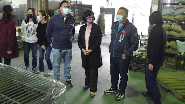 王惠美參訪在地產業 金益笙跨業經營帶動經濟