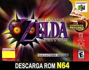 Legend of Zelda 2 - Majoras Mask ROMs Nintendo64 Español