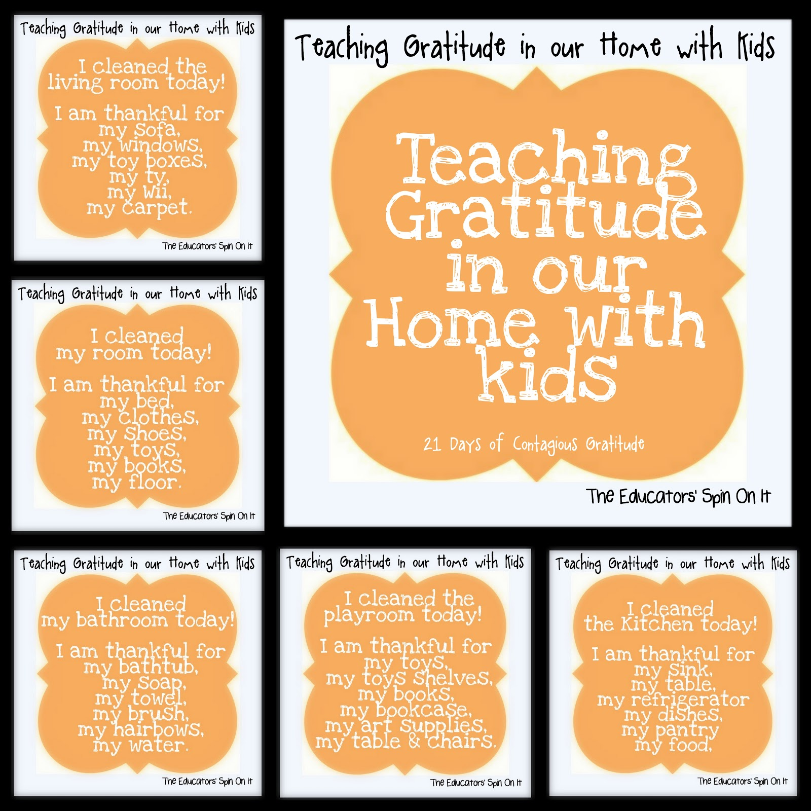 The Educators Spin On It Teaching Gratitude In Our Home