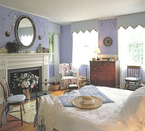 Country Bedrooms: Beautiful Abodes: Fall Asleep In Country Style