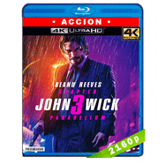 John Wick 3: Parabellum (2019) Ultra HD BDRip 2160p Latino