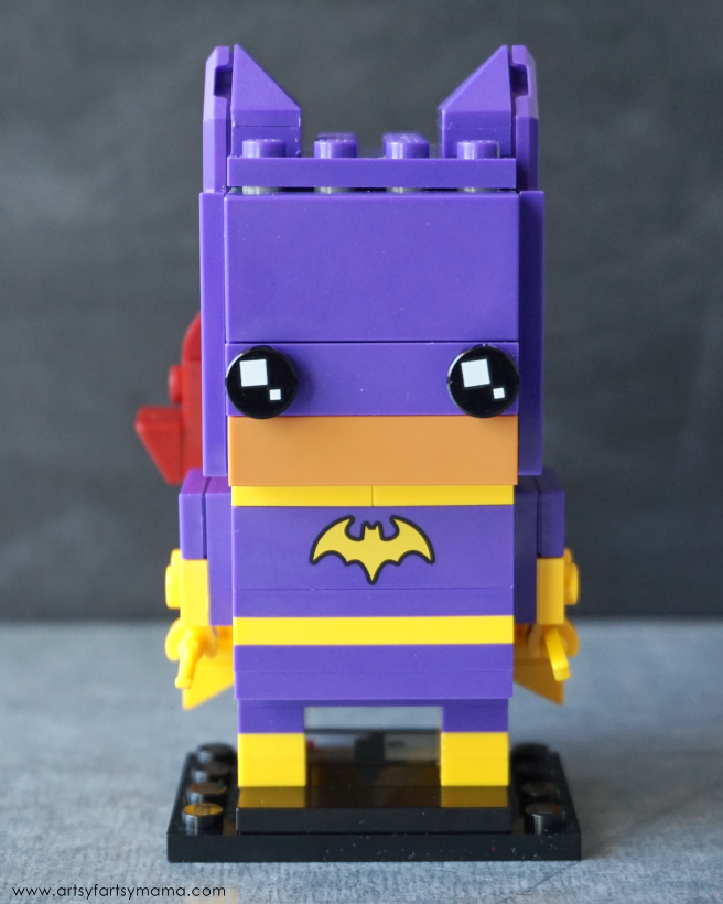 Build the LEGO Batman Movie BrickHeadz Batgirl character!