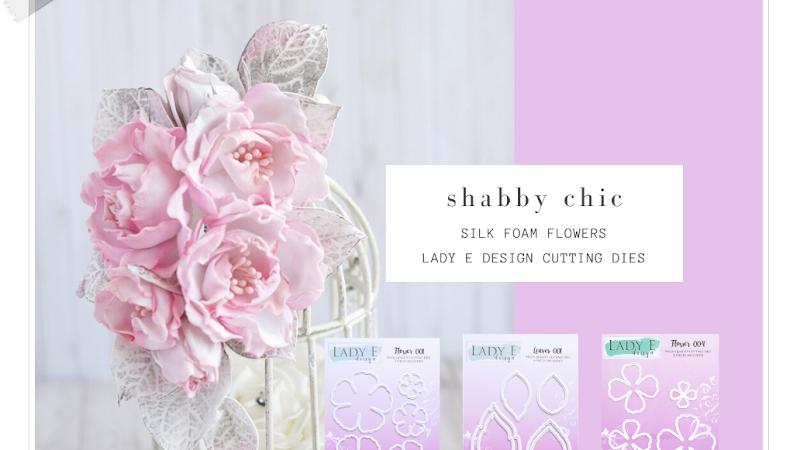 ABC Silk Foam Flowers  / Pianka Jedwabna od A do Z