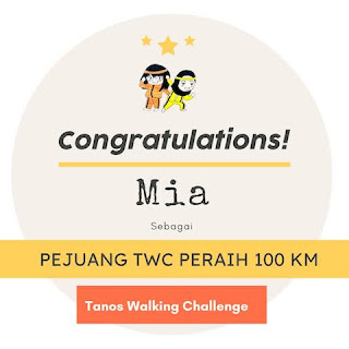 100 km January 2021-Mia