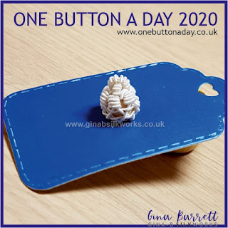 One Button a Day 2020 by Gina Barrett - Day 138 : Charles
