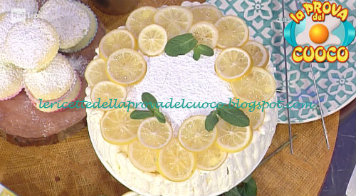 Torta al limone al microonde o al forno ricetta Cattelani da Prova del Cuoco