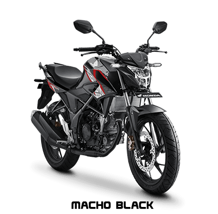 CB 150R Warna Macho Black
