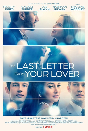 The Last Letter from Your Lover (2021) Hindi Dual Audio 300MB WebRip 480p