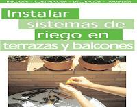 instalar sistema de riego en terrazas y balcones