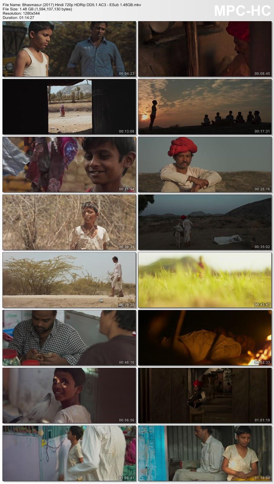 Bhasmasur (2017) Hindi 480p HDRip – 300MB Desirehub