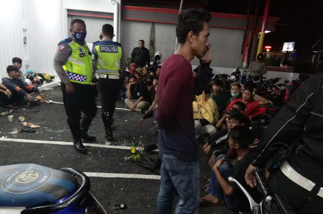 63 Anggota Genk Motor Moonraker Majalengka Diciduk Polisi