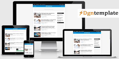 Minifast Responsive Blogger Template | high quality templates 2020