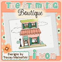 16 januari 2014; gewonnen bij The Stamping Boutique