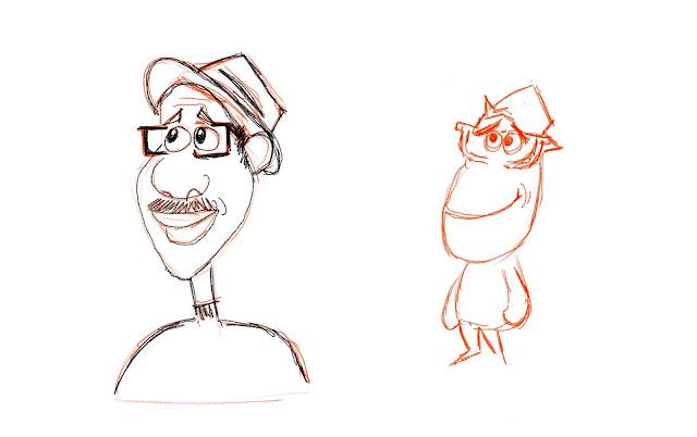 Joe Gardner Soul Sketch