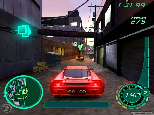 Midnight Club II PS2 GAME ISO Screenshot 1