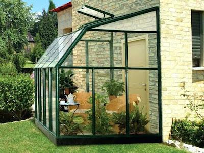Desain Green House Sederhana