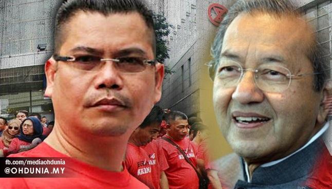 """Baju Merah Akan Lawan Geng Tun Mahathir"" – Jamal Yunos"