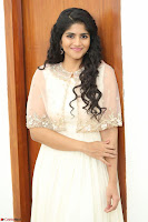 Megha Akash in beautiful Cream Transparent Anarkali Dress at Pre release function of Movie LIE ~ Celebrities Galleries 069.JPG