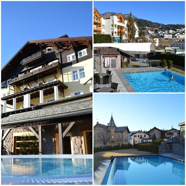 hotel con piscina esterna riscaldata montagna