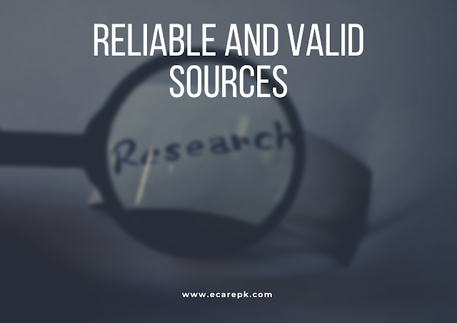 Explain Why Research is More Reliable and Valid Source of Collecting Data as Compared to other Sources of Knowledge