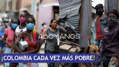En medio de la pandemia se agravó la pobreza en Colombia