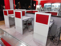 Custom Furniture Semarang - meja warnet dan sekat - cubicle workstation - semarang