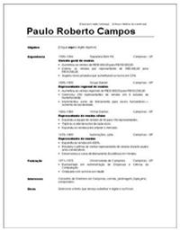 Modelo De Currículo Profissional Para Word - Como Fazer um Currículo de Sucesso