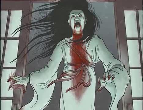 Onryo, scary urban legend, most scary urban legend, scary Japanese urban legend