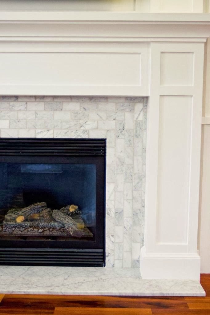 Tile Fireplace Surround >> Lounge & Fireplace Details - Our Hampton Style Forever Home