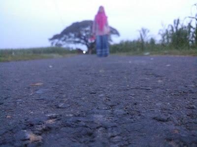 Jalan-Jalan Pagi Menikmati Asrinya Pemandangan Kidul Ngerang