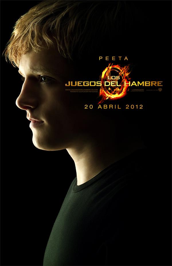 Poster de Los Juegos del hambre PEETA