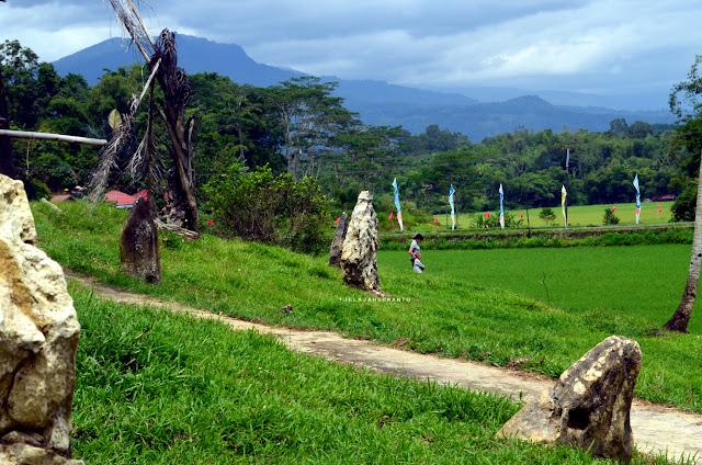 Menghirup udara segar Kete Kesu Tana Toraja Sulsel +Fotojelajahsuwanto