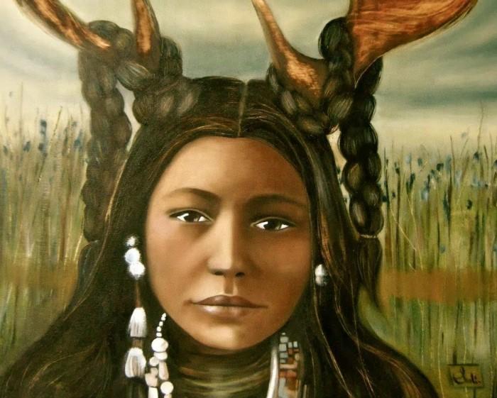 Трудолюбивые латиноамериканские женщины. Claudia Tremblay