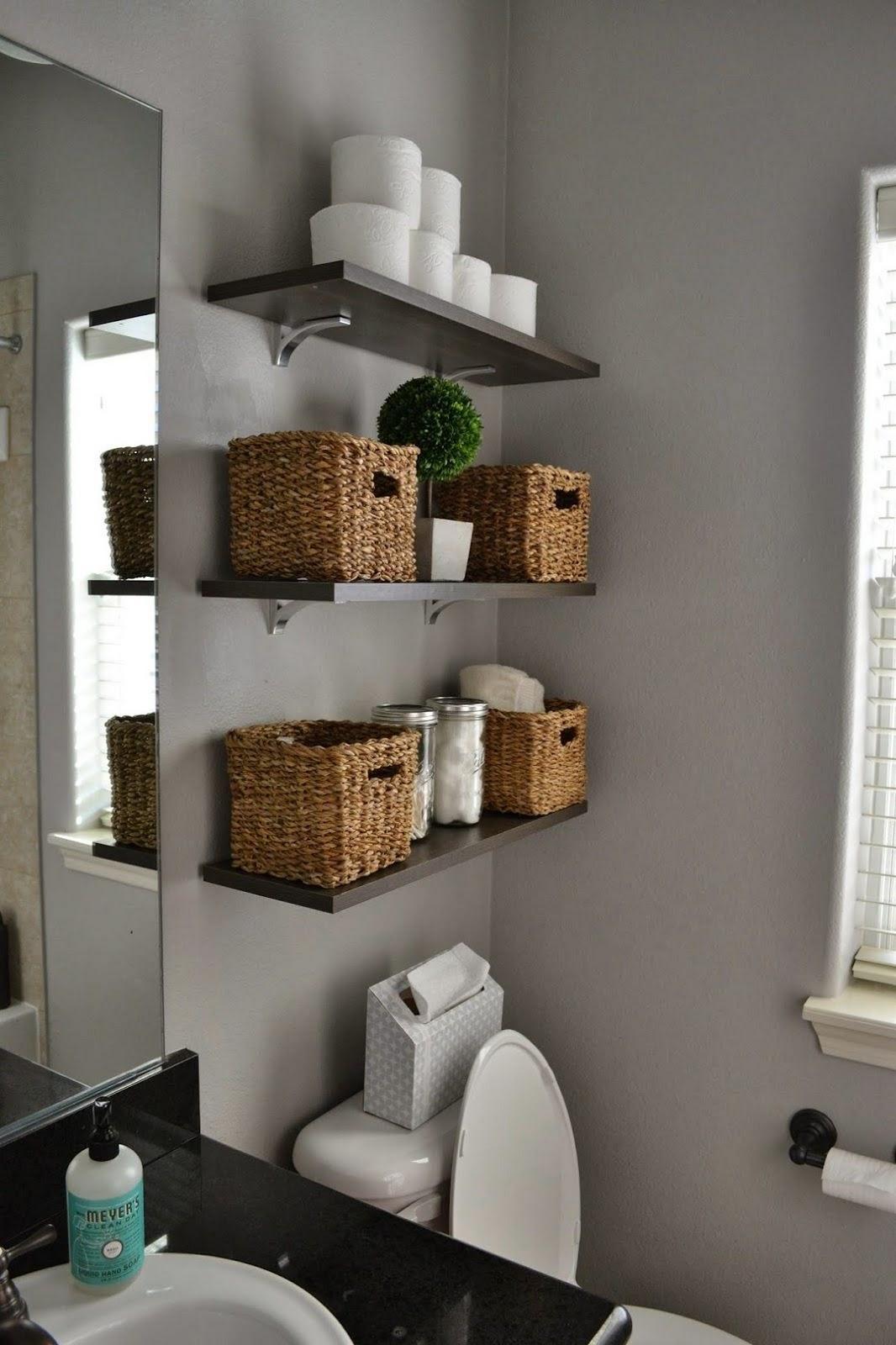 Easy and Effective Small Bathroom Organization Ideas