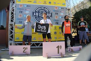 Categoria Solo Masculino: Marcos Paim (1º lugar), Fábio dos Santos (2º lugar) e Diogo Loretto (3º lugar)