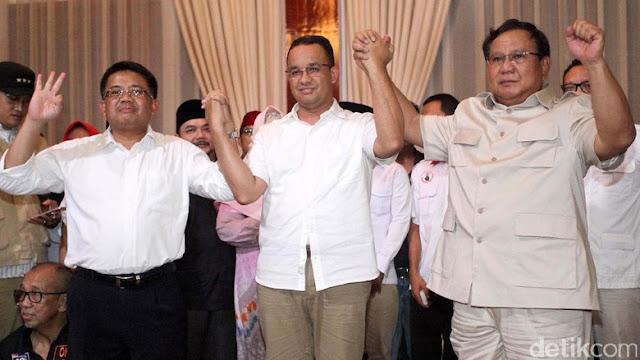 Cawapres Prabowo, Gerindra-PKS Bahas Nama Anies