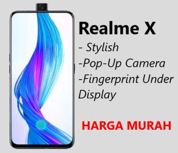 Harga dan Spesifikasi Realme X
