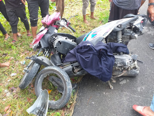 Saat itu sepmor Honda New Beat dikemudikan oleh korban meninggal Gani, melaju dari arah Langsa ke Aceh Timur.