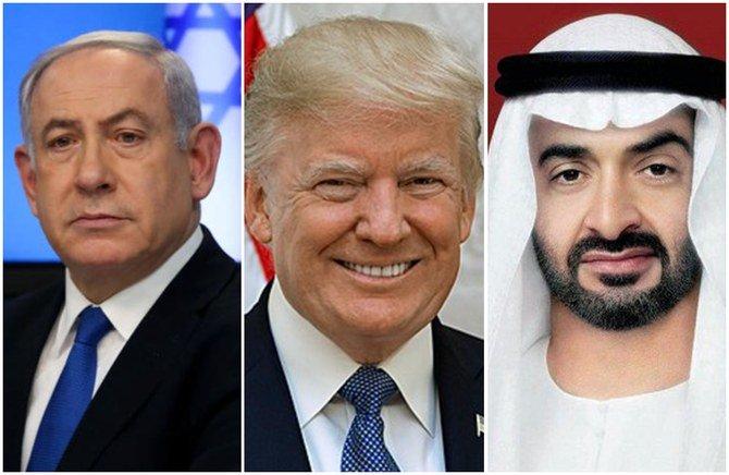 الإمارات وإسرائيل والولايات المتحدة يتوصلون إلى اتفاق تاريخي بشأن فلسطين