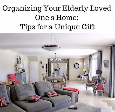 Organizing a home for elders aging in place