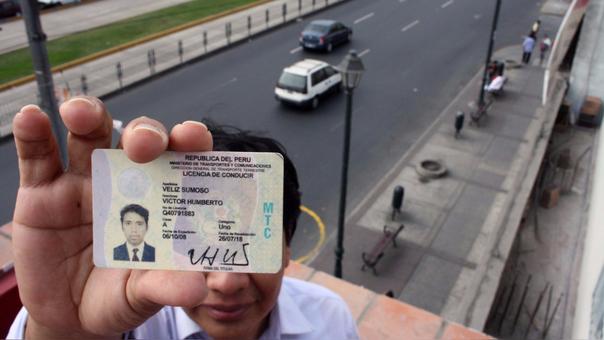 Licencia de conducir gestionar el duplicado en Perú
