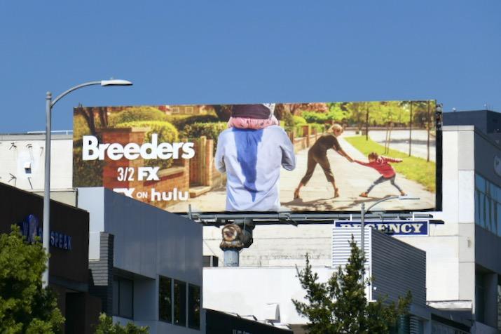 Breeders series premiere billboard
