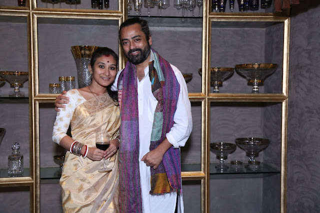 (L-R) Monali Bhardwaj, Abhijit Das