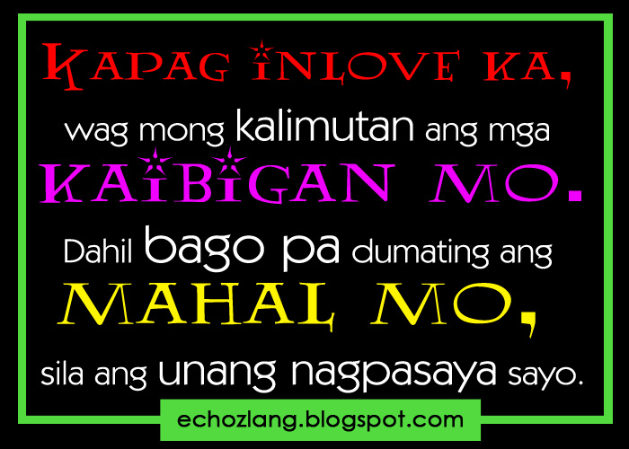 Sa Tunay Na Para Kaibigan Quotes Tagalog