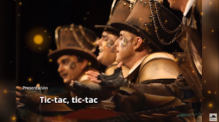 """Presentación con Letra Comparsa """"Tic-Tac, Tic-Tac"""" de Constantino Tovar Verdejo (2018)"""