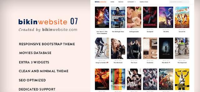 Bikinwebsite07 Wordpress Templates Free Download