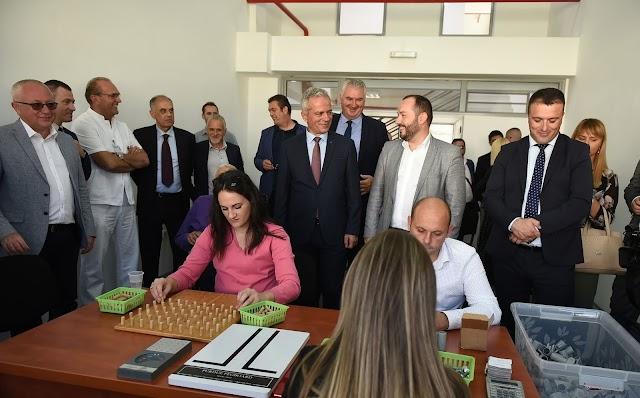 Purišić otvorio Centar za profesionalnu rehabilitaciju