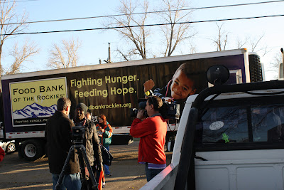 Terrell Surprises Mobile Pantry Recipients Food Bank Of