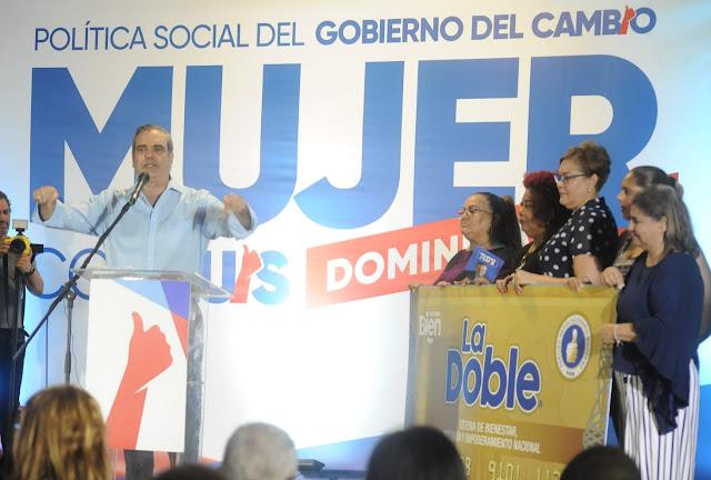 Abinader: bienestar social serán derechos, no privilegios