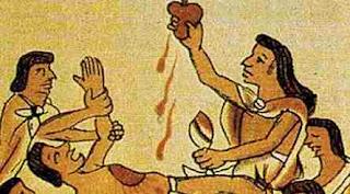 Extragerea inimii în ritualuri, jertfe și sacrificii umane